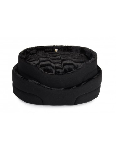 """Standard Mountain"" Black Pet bed"