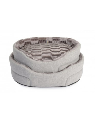 """Standard Mountain"" Grey Pet bed"