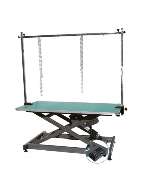 Ηλεκτρικό Ανυψωτικό Τραπέζι με Πλαστική Επιφάνεια
