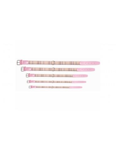 Chéri Pink Tartan Collar