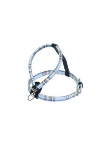 Cheri Light Blue Tartan Harness