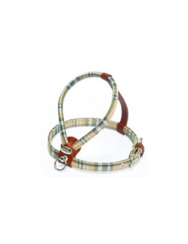 Cheri Brown Tartan Harness