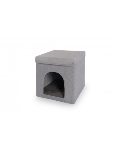 Cube with scratching post...