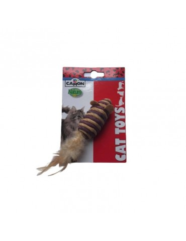 """Cat toy """"Mouse with feather"""""""