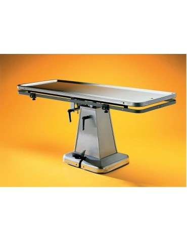 Flat-Top Surgery Table with Electric Lift Base