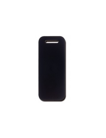 Black Luggage ID Tag