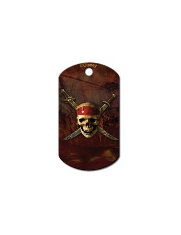 Military ID Tag with Pirates of Caribbean