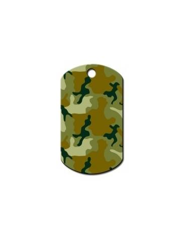 """Ταυτότητα στρατιωτική πράσινη """"Camouflage"""""""