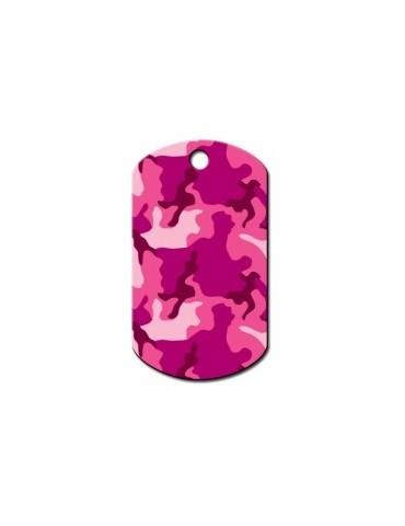 """Ταυτότητα στρατιωτική ροζ """"Camouflage"""""""