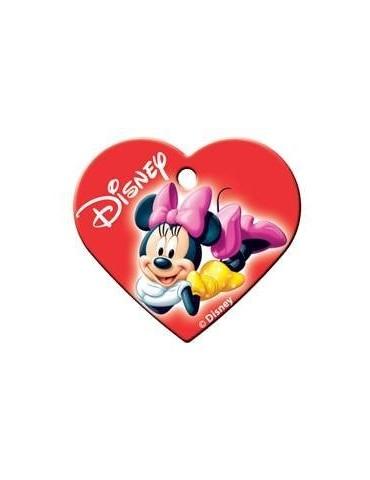 Ταυτότητα καρδιά Minnie μεγάλη κόκκινη