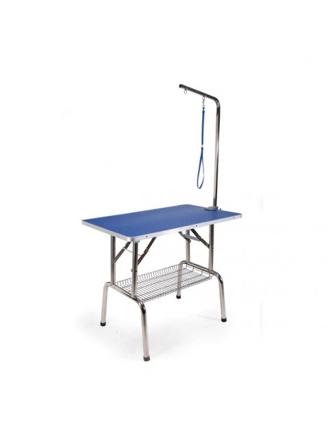 Folding grooming table