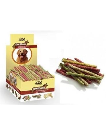"""Χρωματιστό Κόκκαλο Στικ """"Rawhide""""  12 cm-Για Σκύλους"""