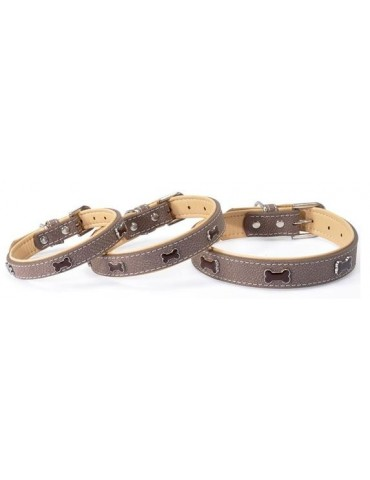 """""""Timber"""" brown collar"""