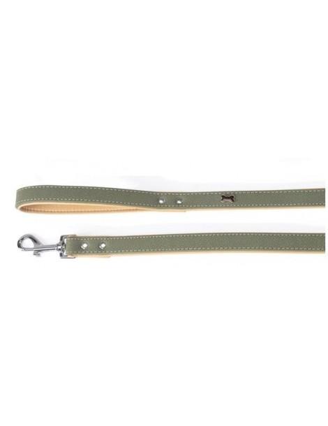 """Timber"" green leash"