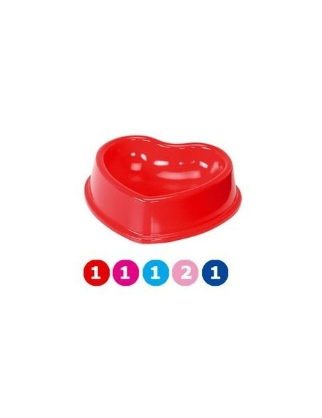 Plastic Heart-shaped Bowl