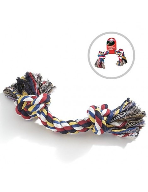 Training rope with 2 knots