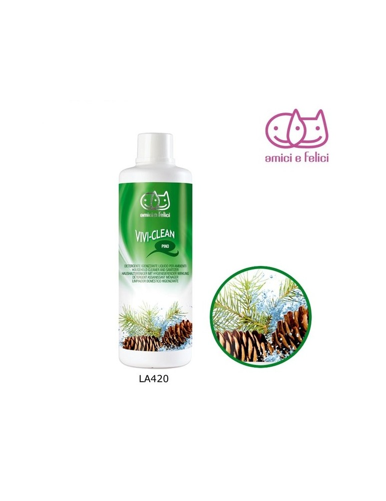 Cleaner and sanitizer Pine
